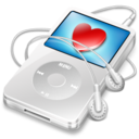 128x128 of ipod video white apple