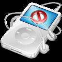 ipod video white no disconnect