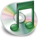 iTunes mint groen