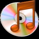 128x128 of iTunes oranje 2