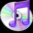 iTunes paars