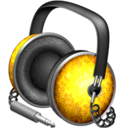 Golden Garnish headphones