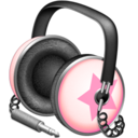 Pinkstar Power headphones
