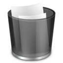 128x128 of Recycle Bin Full