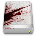 128x128 of The Blood Splattered Drive