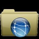 Folder Remote Brown
