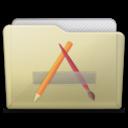 beige folder apps