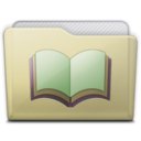 128x128 of beige folder library alt
