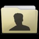 beige folder user