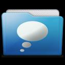 128x128 of folder chats