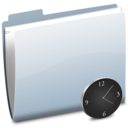 Folder Clock