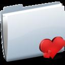128x128 of Folder Heart