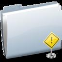 Folder Sign Stop