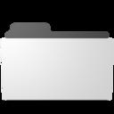minimal open folder