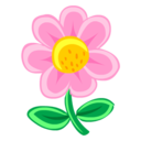 128x128 of Pink Flower