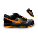 128x128 of Nike Dunk Dark Orange
