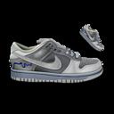 128x128 of Nike Dunk Grey