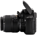 Nikon D40 left