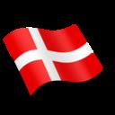 Danmark Denmark Flag