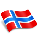 128x128 of Norway Flag