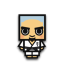 128x128 of Judo man