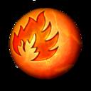 128x128 of Orbz fire