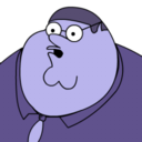 Peter Griffin Blueberry zoomed 2