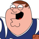 128x128 of Peter Griffin Football zoomed 2