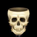 128x128 of Skull empty