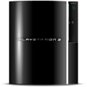 128x128 of Black Play Station 3