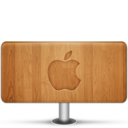 128x128 of Apple Wood