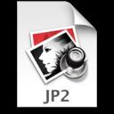 128x128 of JP2