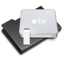 128x128 of AppleTV Black