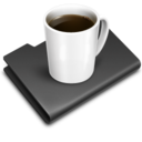 128x128 of Coffee Black
