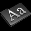 Fonts Black