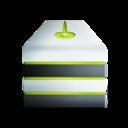128x128 of server allum vert