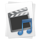 128x128 of Movie & Music File