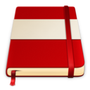 moleskine red white 512