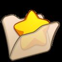 Folder beige favourite