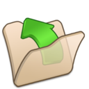 Folder beige parent