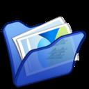 Folder blue mypictures
