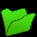 128x128 of Folder green