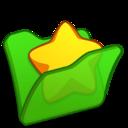 Folder green favourite