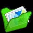 Folder green mypictures