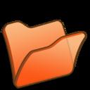 128x128 of Folder orange