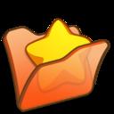 Folder orange favourite