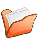 Folder orange mydocuments