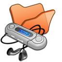 Folder orange mymusic
