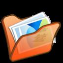 Folder orange mypictures