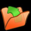 Folder orange parent